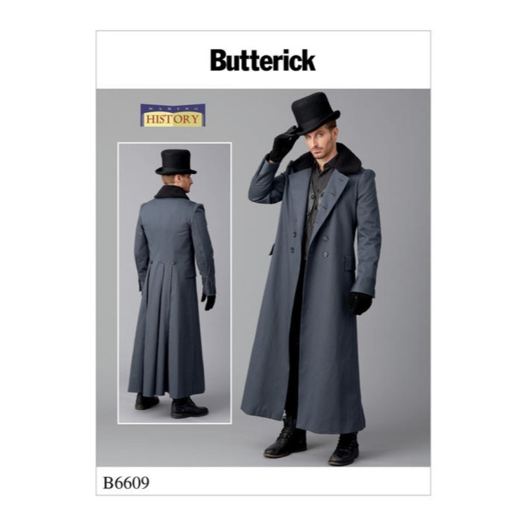 Butterick Pattern B6609 Making History Men's' Costume
