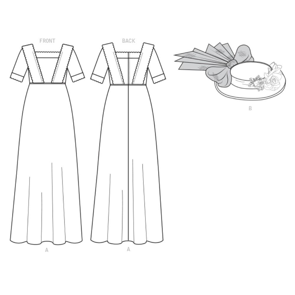 NEW Butterick Pattern B6610 Nancy Farris-Thee Making
