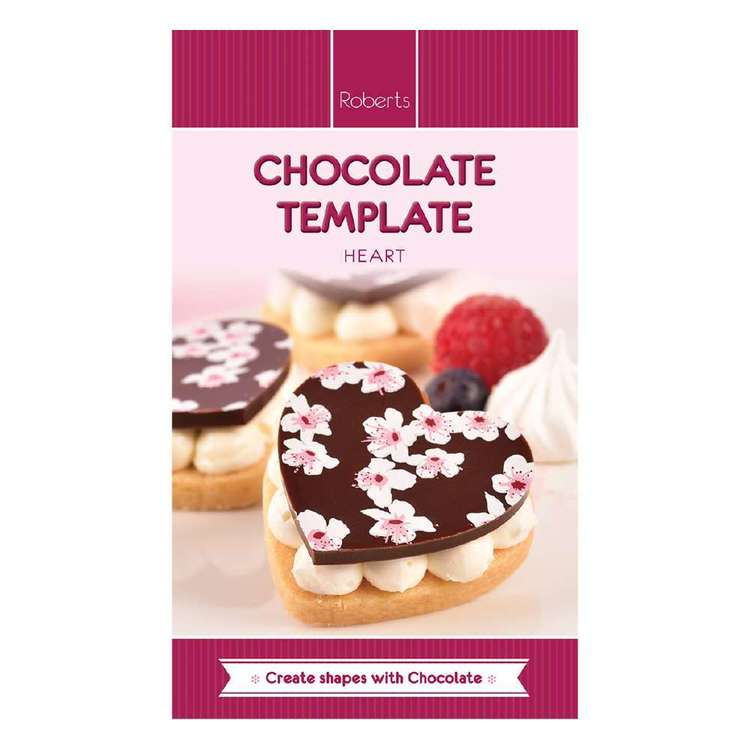 Roberts Edible Craft Heart Chocolate Mould