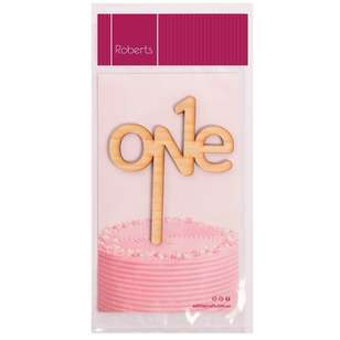 Roberts Edible Craft Cake Topper - One