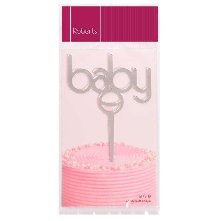 Roberts Edible Craft Cake Topper - Baby