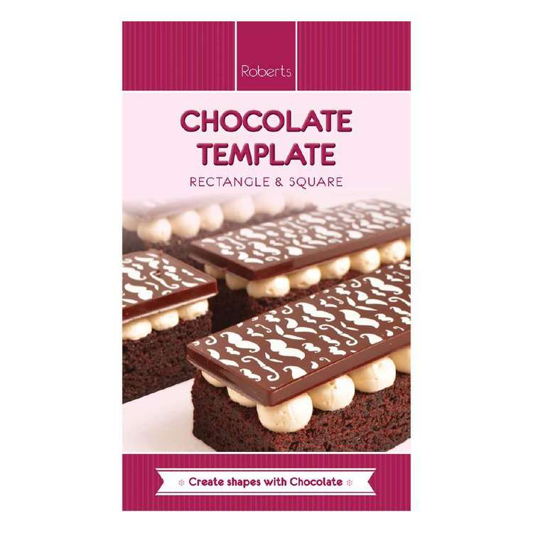 Roberts Edible Craft Rectangle Chocolate Mould