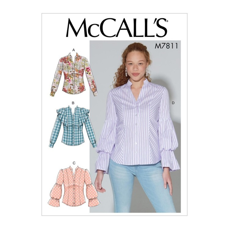 McCall's Pattern M7811 Misses' Tops