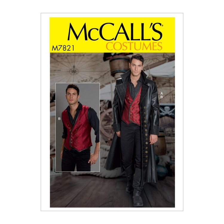 McCall's Pattern M7821 Men's' Costume