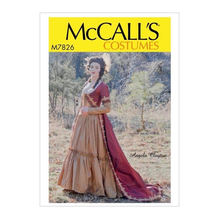 McCall's Pattern M7826 Angela Clayton Misses' Costume