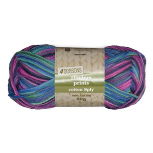 Flinders Printed Cotton 8 Ply Yarn