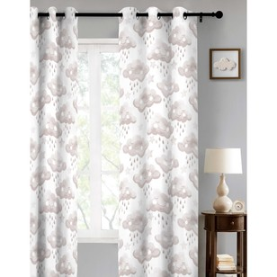 KOO Happy Clouds Eyelet Curtain