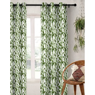 KOO Happy Cactus Eyelet Curtain