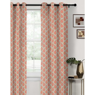 KOO Happy Apples Eyelet Curtain