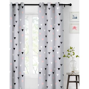 KOO Happy Triangle Eyelet Curtain