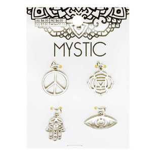 Ribtex Mystic Crystal Charm Cards