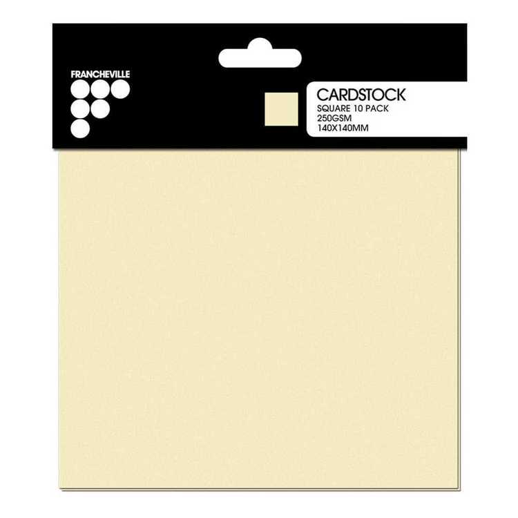 Francheville Square Cardstock Pack