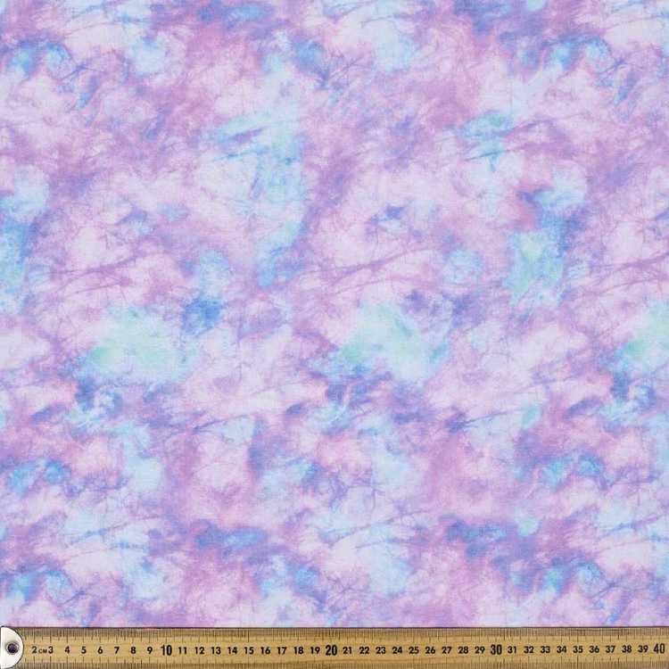 Purple Marble Printed Flannelette Fabric