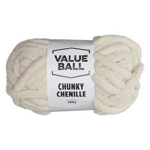 Value Ball Chunky Chenille Yarn