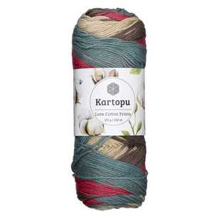 Kartopu Love Cotton Prints Yarn