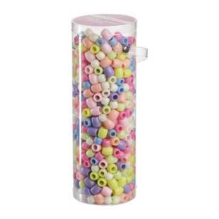 Crafter's Choice Pastel Pony Beads in Tube