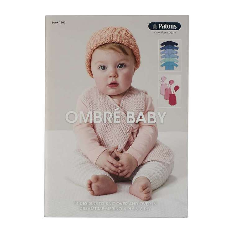 Patons Ombre Baby Pattern Book