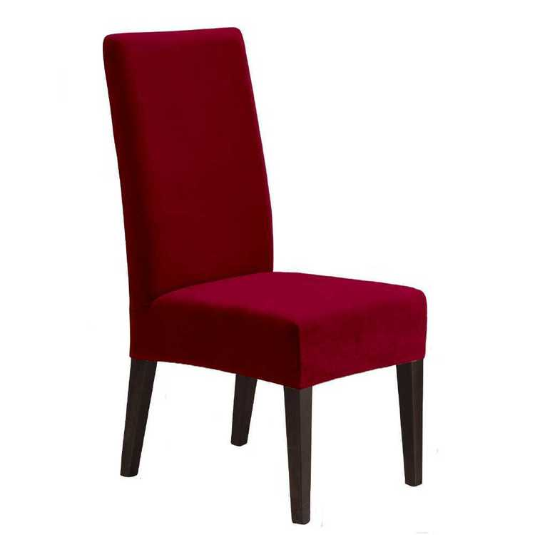 Ardor Velvet Dining Chair Cover