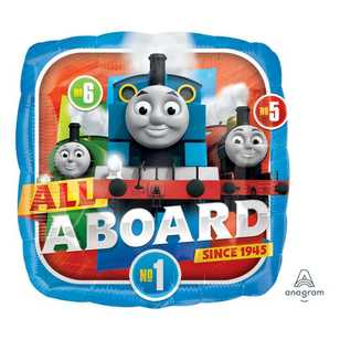 Amscan All Aboard Thomas Foil Balloon