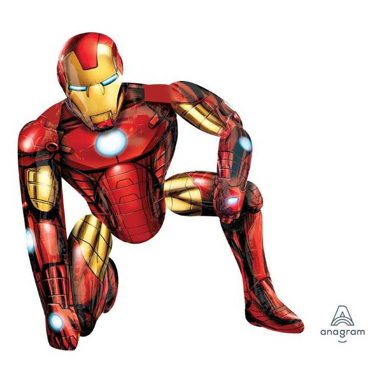 Amscan Iron Man Airwalker Balloon