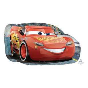 Amscan Cars Lightning Mcqueen Supershape Balloon