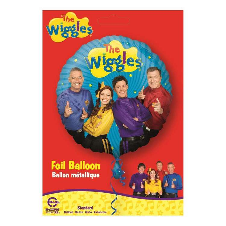 Amscan Wiggles Group Standard Foil Balloon Multicoloured