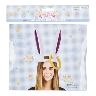 Daisy Chain Inflatable Bunny Ears Ring Toss