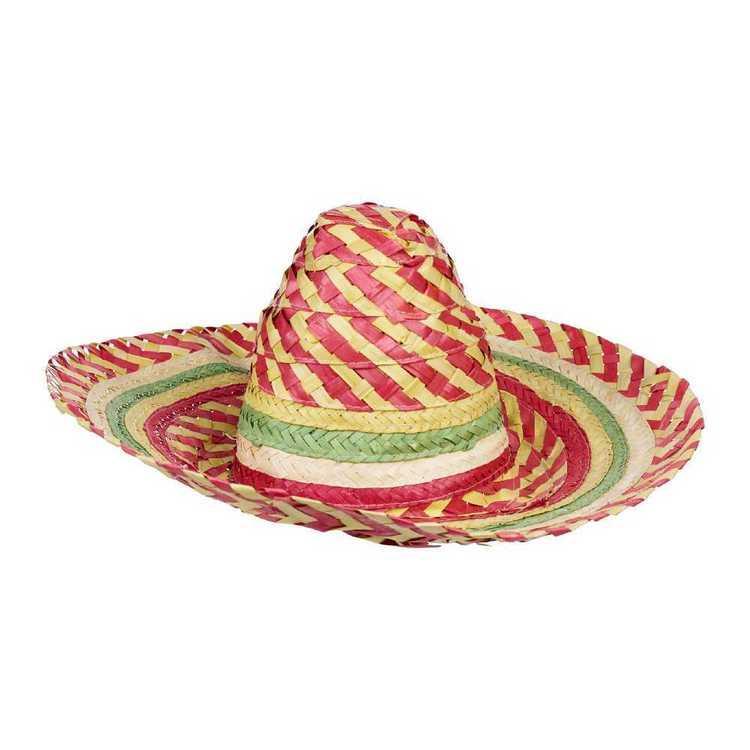 nuevas imágenes de calidad perfecta linda Party Creator Mexican Sombrero Hat Natural 50 cm