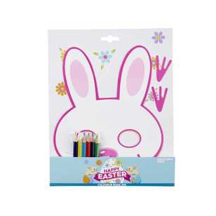 Daisy Chain Colour-In Bunny Mask
