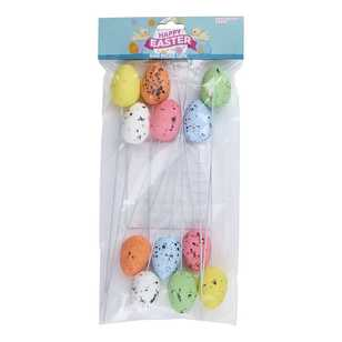 Daisy Chain Speckled Egg Picks