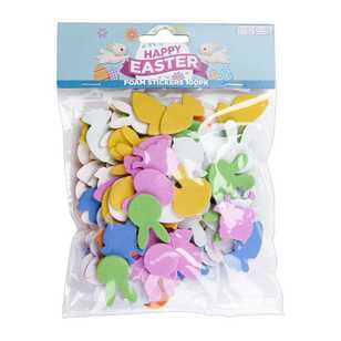 Daisy Chain Mini Foam Easter Stickers 100 Pack