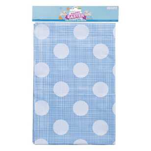 Daisy Chain Polka Dot Tablecloth
