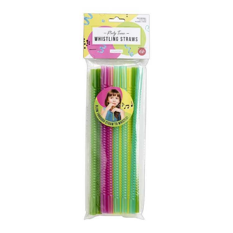 Whistling Straws 12 Pack
