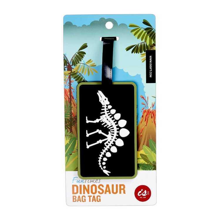 Fun Times Dinosaur Bag Tag