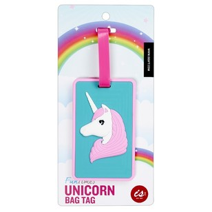Fun Times Unicorn Bag Tag
