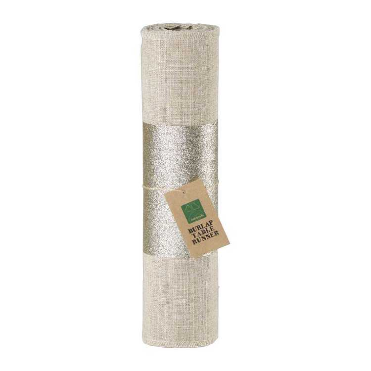 Shamrock Naturals Linen Table Runner