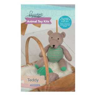 Passioknit Teddy Animal Cushion Kit