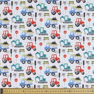 Machines Printed Flannelette Fabric
