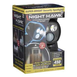 As Seen On TV Night Hawk Security Spot Light