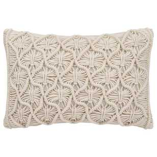 Bouclair Organic Feels Maco Macrame Cushion