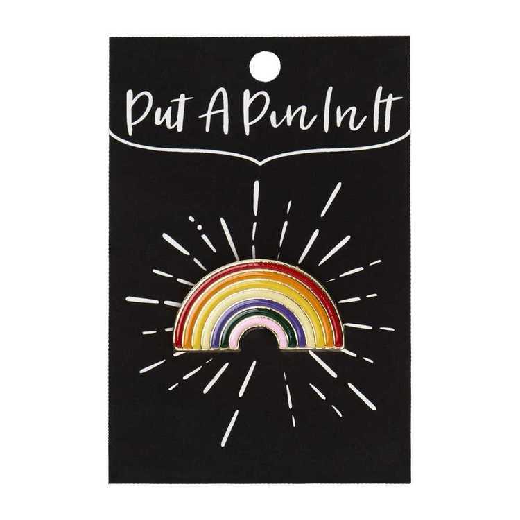 Enamel Pin Rainbow