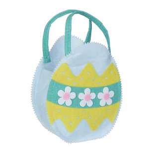 Daisy Chain Felt Easter Egg Bag