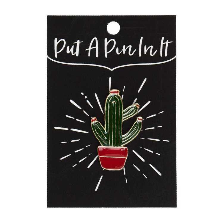 Enamel Pin Cactus