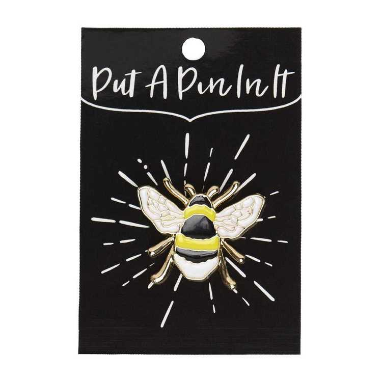 Enamel Pin Bumble Bee