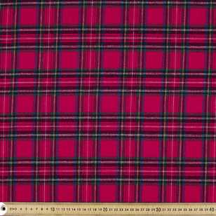 Check Flannelette Fabric