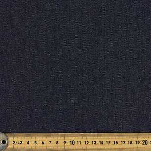 Plain Denim Rigid Ring Spun Fabric