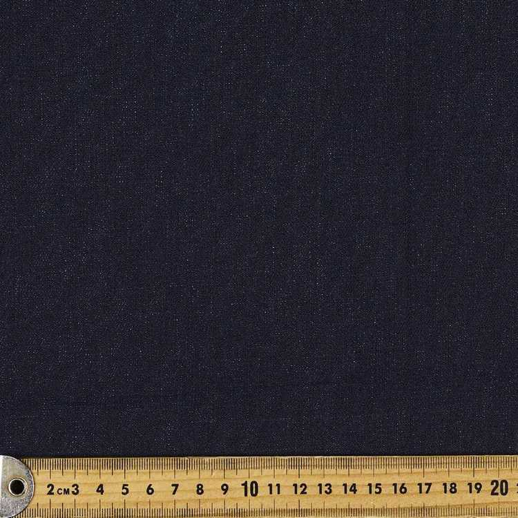 Plain Denim Stretch Ring Spun Fabric