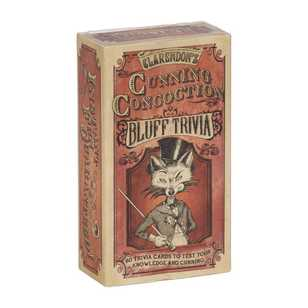 Clarendon Games Cunning Concoction Trivia Game