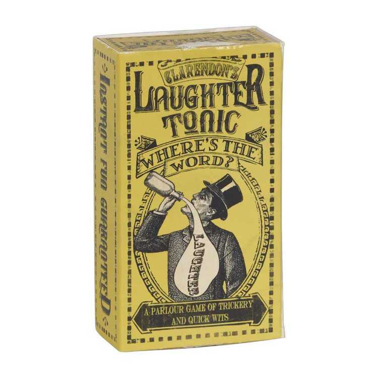Clarendon Games Laughing Tonic Word Game