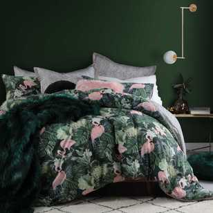 Logan & Mason Flamingo Jungle Quilt Cover Set